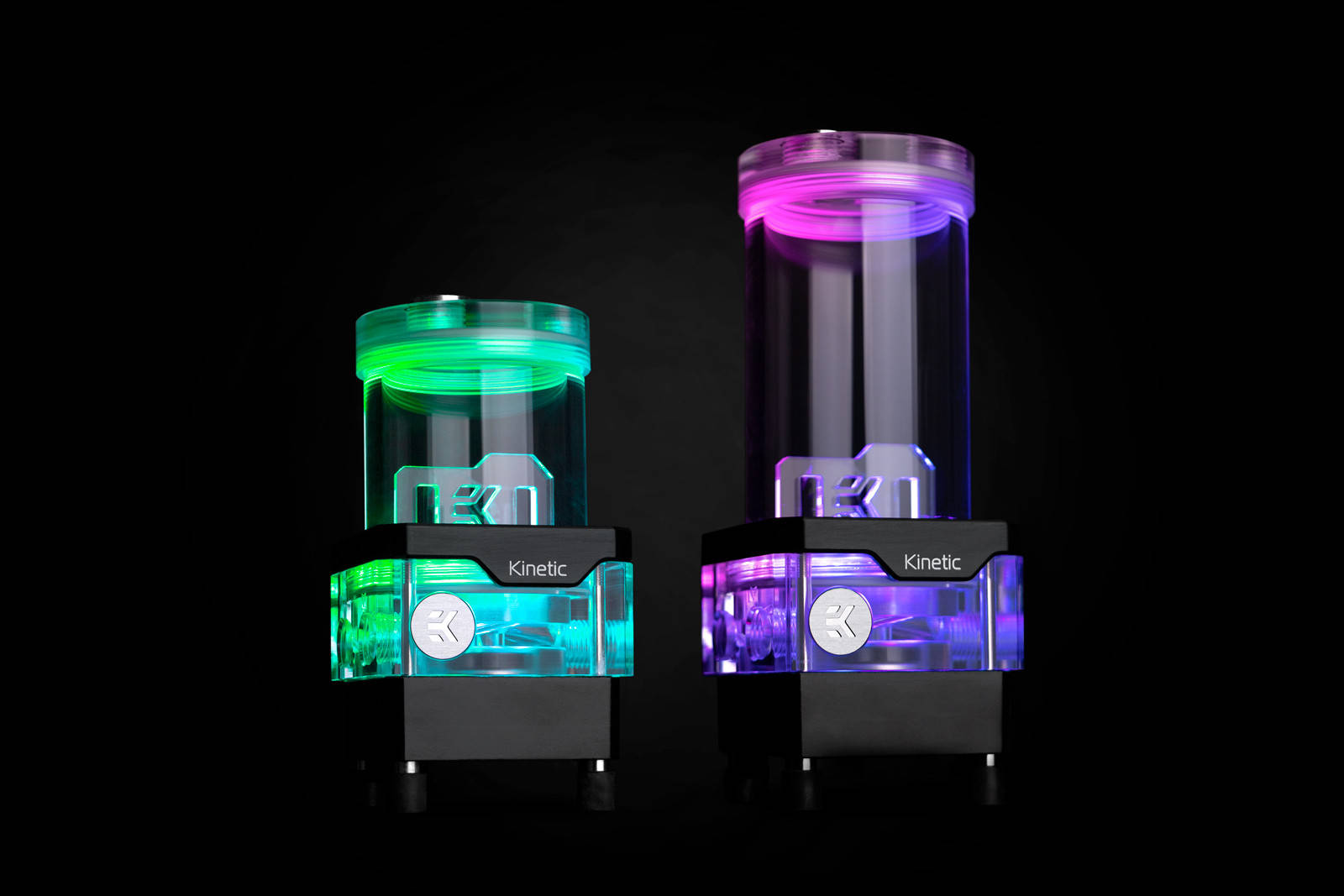 EK WaterBlocks EK-Quantum Kinetic TBE 160 DDC PWM D-RGB - Plexi