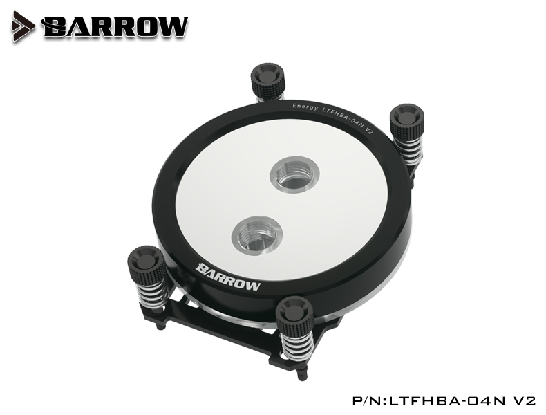 BARROW Jetting type micro waterway CPU block (Supreme Edition) for AMD platform Black bracket +classic black