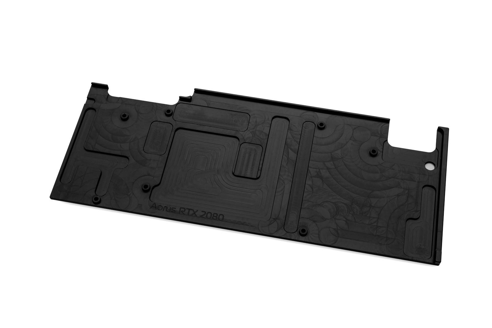 EK WaterBlocks EK-Vector Aorus RTX 2080 Backplate - Black
