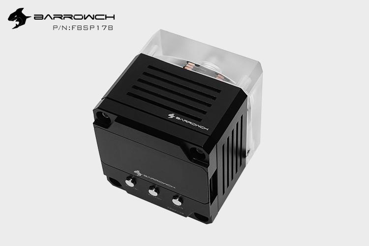 Barrowch PWM speed control 17W pump Intelligent edition Black