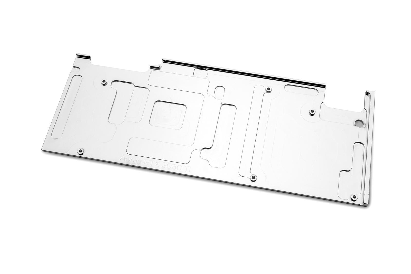 EK WaterBlocks EK-Vector Aorus RTX 2080 Ti Backplate - Nickel