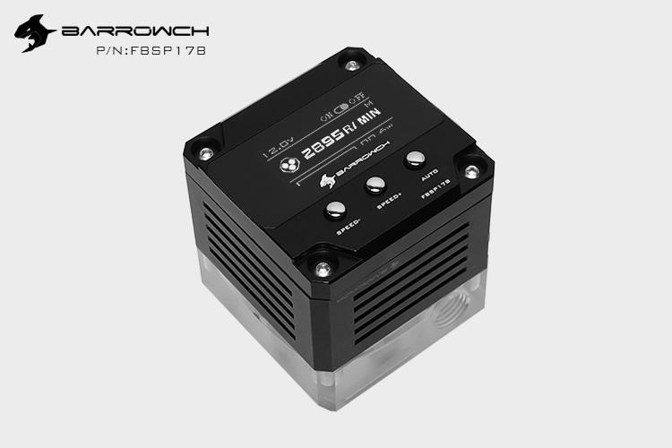 Barrowch PWM speed control 17W pump Intelligent edition Silver