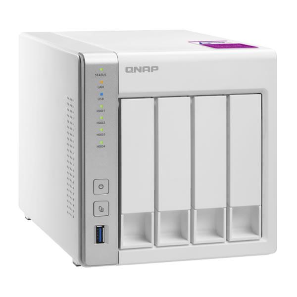 QNAP TS-431P2 2.5/3.5インチHDD 4台搭載可能