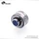 Bykski Anti-Off Rigid 16mm OD Fitting - Silver (B-FTHTJ-L16)