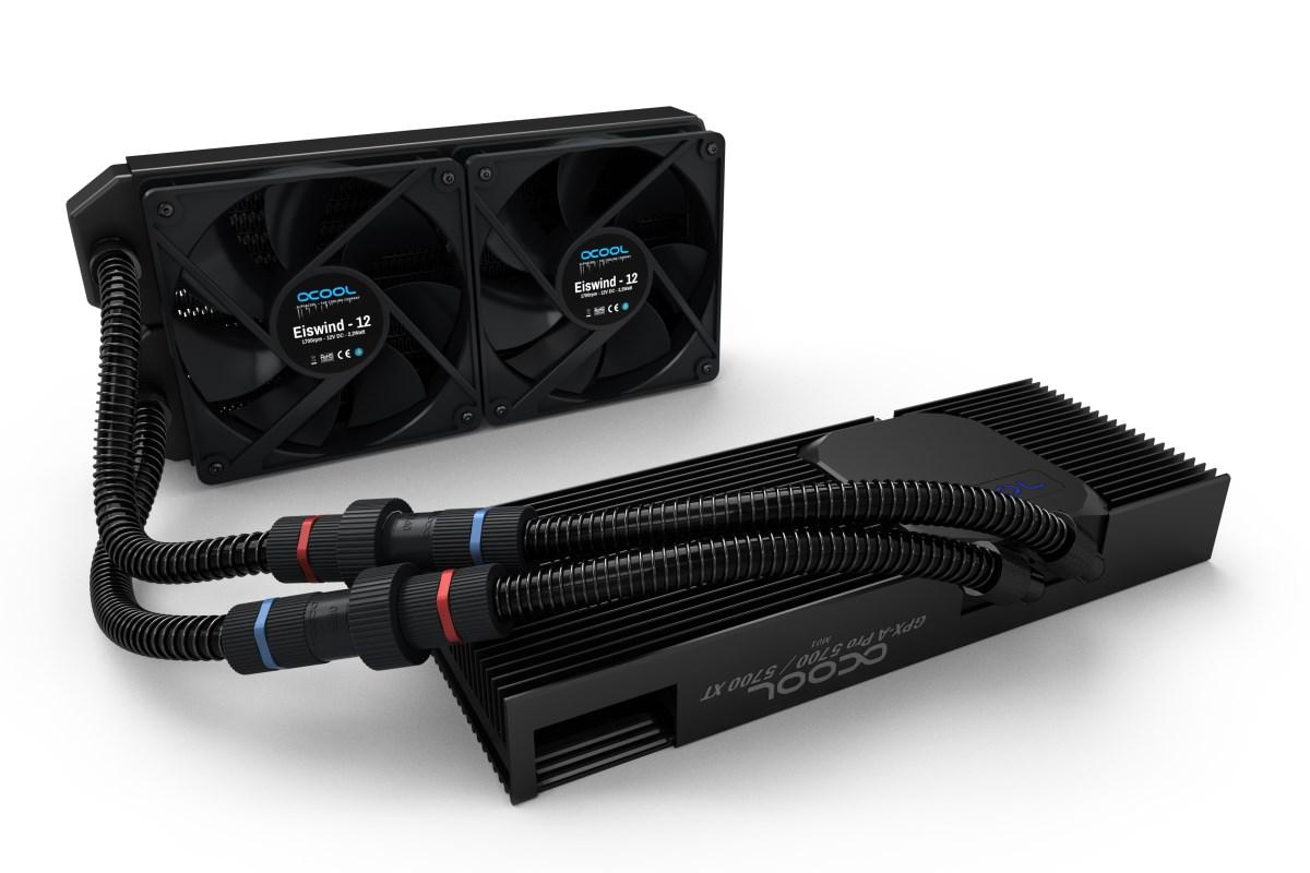 Alphacool Eiswolf 240 GPX Pro AMD Radeon RX 5700/5700XT M01 - Black