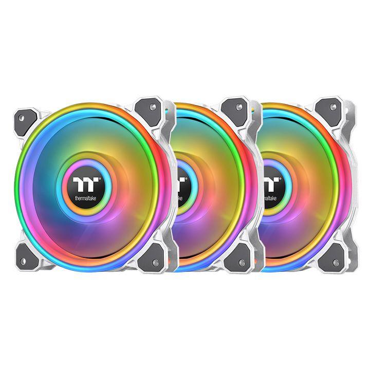 Thermaltake Riing Quad PLUS 14 RGB White 3Pack (CL-F101-PL14SW-A)