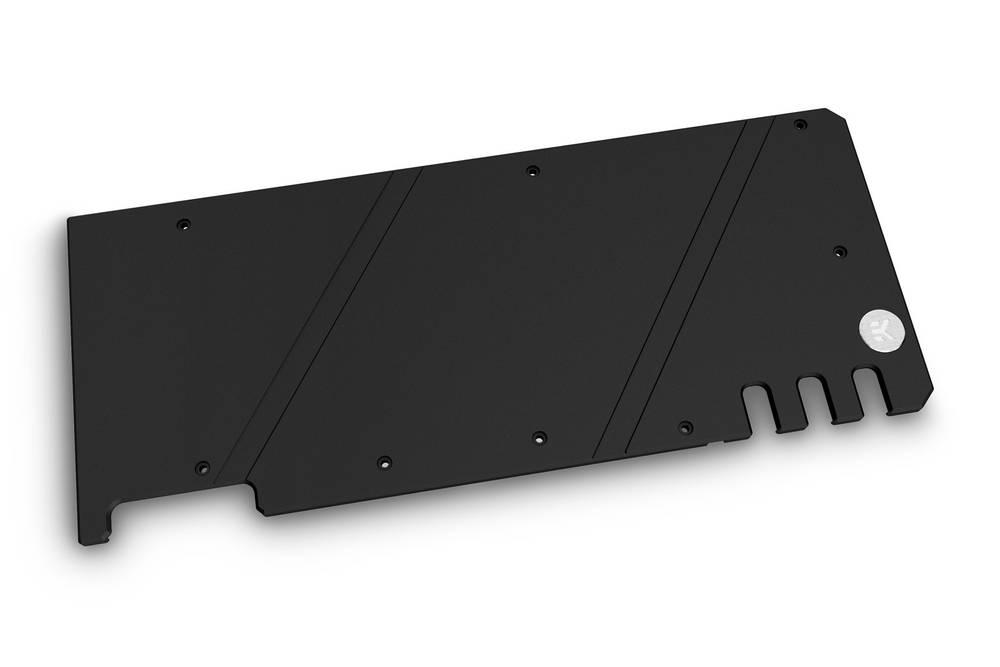 EK WaterBlocks EK-Quantum Vector Trio RTX 3080/3090 Backplate - Black