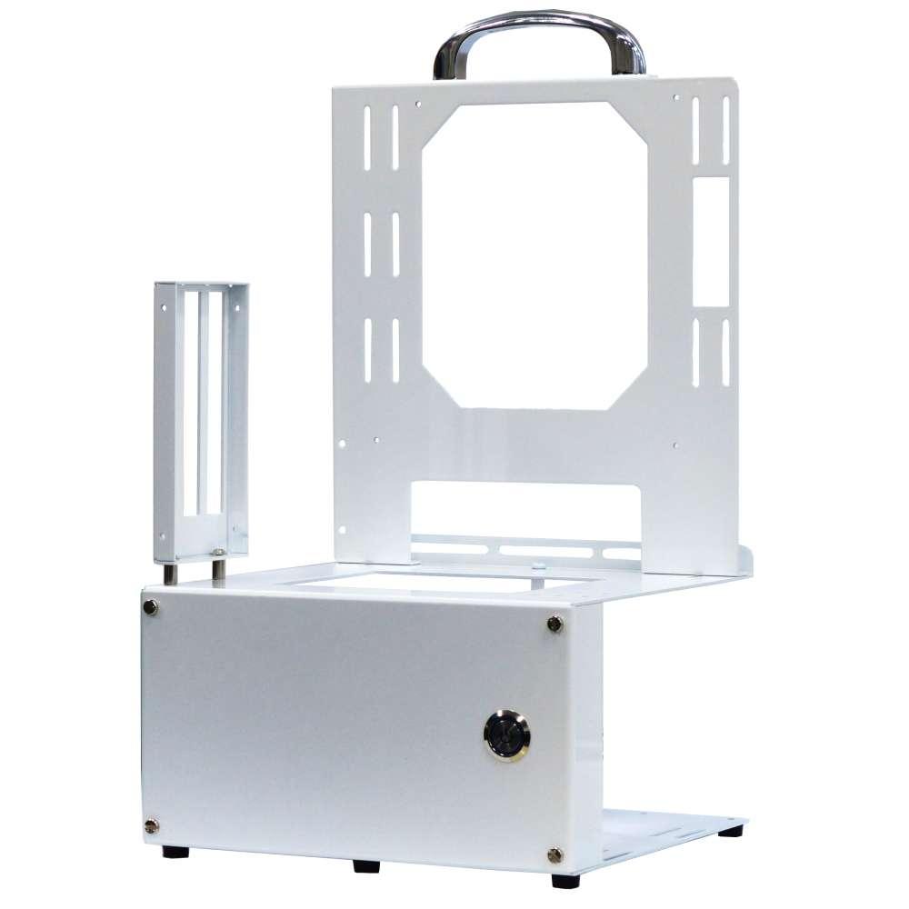 長尾製作所 オープンフレーム ver.mini-ITX ホワイトエディション ATX電源対応モデル