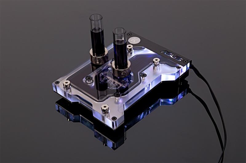 EK Water Blocks EK-FB ASUS X399 GAMING RGB Monoblock - Nickel