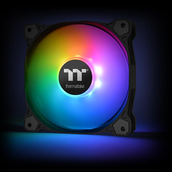 Thermaltake Pure Plus 12 RGB Radiator Fan TT Premium Edition 3Pack (CL-F063-PL12SW-A)