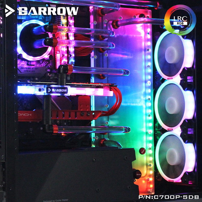 BARROW LRC2.0 waterway plate for Cooler Master C700P case