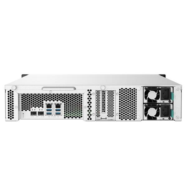 QNAP TS-832PXU-RP-4G 8ベイ ラックマウントNASキット