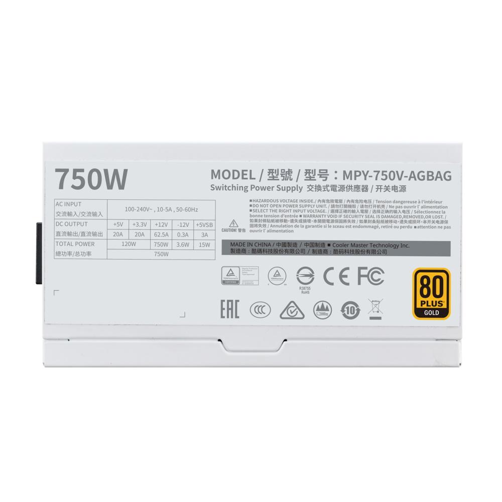 Cooler Master V750 Gold-V2 White Edition