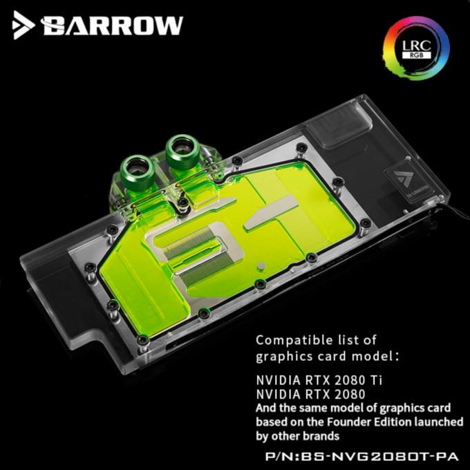 BARROW NVIDIA GPU RTX2080Ti/2080-Aurora RGB (BS-NVG2080T-PA)