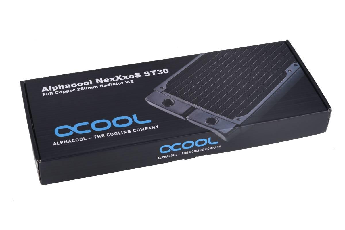 Alphacool NexXxoS ST30 Full Copper 280mm radiator V.2