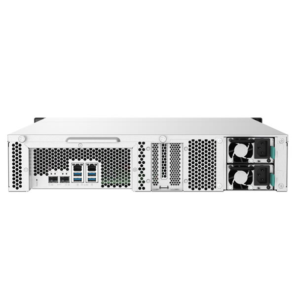 QNAP TS-1232PXU-RP-4G 12ベイ ラックマウントNASキット