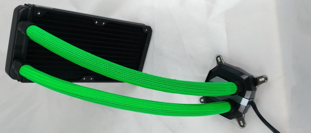 CORSAIR H100i V2 Sleeve Edition