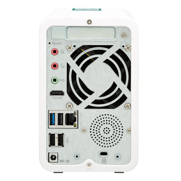 QNAP TS-251B 2.5/3.5インチHDD 2台搭載可能