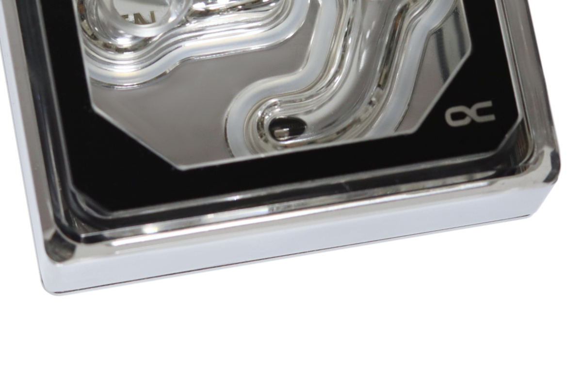Alphacool Eisblock XPX Aurora Edge - Plexi Chrome Digital RGB