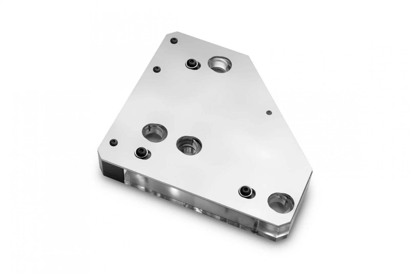 EK WaterBlocks EK-Quantum Momentum VRM Bridge ROG Maximus XII Formula D-RGB - Plexi