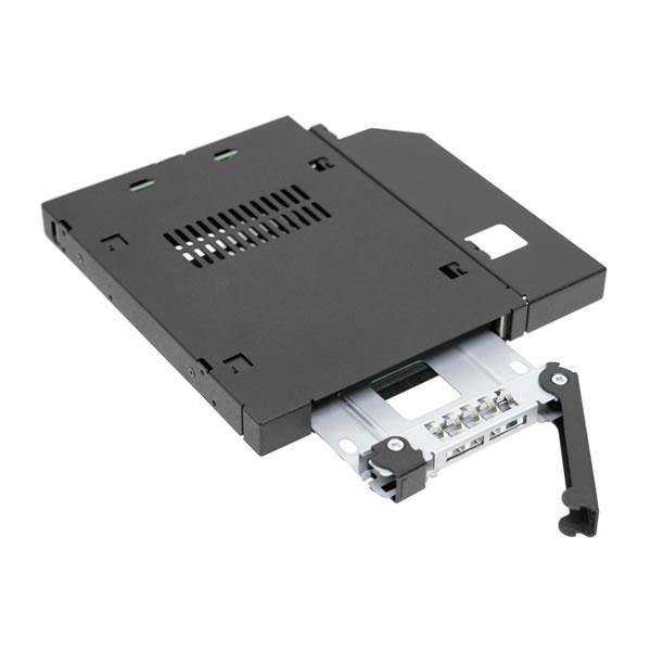 ICYDOCK MB411SPO-B スリムドライブベイ用 2.5インチ 1台搭載可能