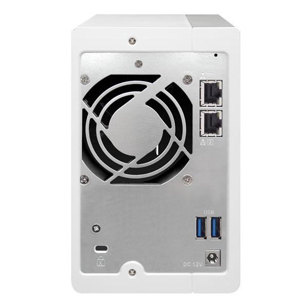 QNAP TS-231P 2.5/3.5インチHDD 2台搭載可能