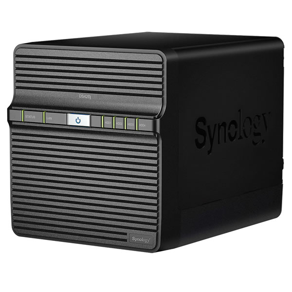 Synology DiskStation DS420j HDD4台搭載可能