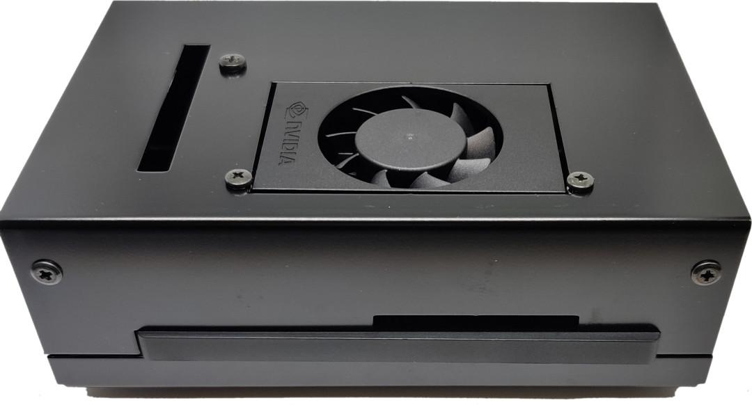 【OLIOSPECオリジナル】NVIDIA JETSON XAVIER NX 開発者キット用ケース(長尾製作所製)