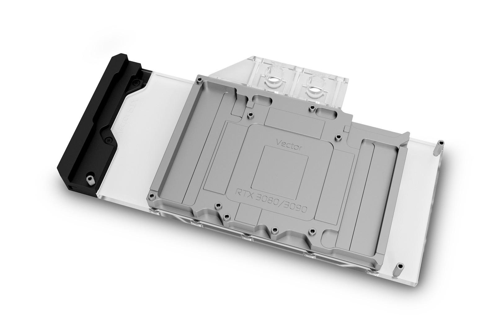 EK WaterBlocks EK-Quantum Vector Trinity RTX 3080/3090 D-RGB - Nickel + Plexi