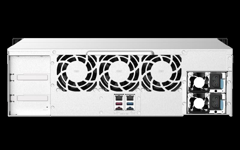 QNAP TS-1673AU-RP-16G 16ベイ ラックマウントNASキット