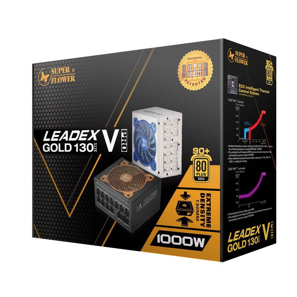 【取寄せ商品:要納期確認】 SuperFlower LEADEX V Gold PRO 1000W WHITE