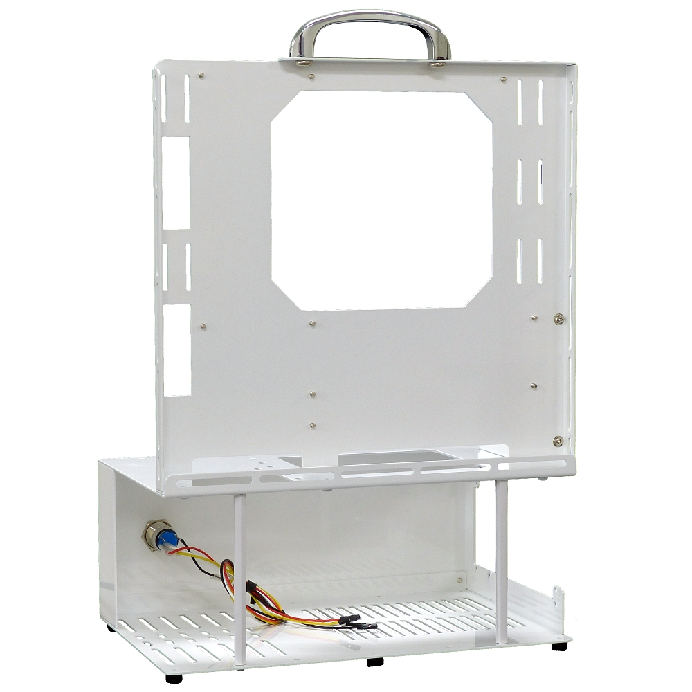 長尾製作所 オープンフレーム ver.micro-ATX ホワイトエディション