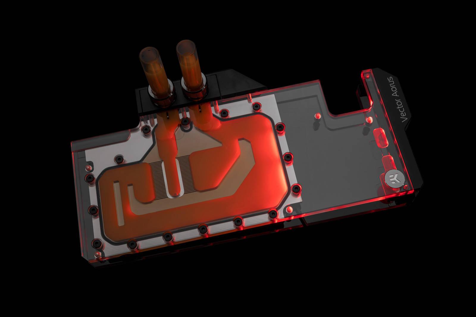EK WaterBlocks EK-Quantum Vector Aorus RTX 2080 Ti D-RGB - Nickel + Plexi
