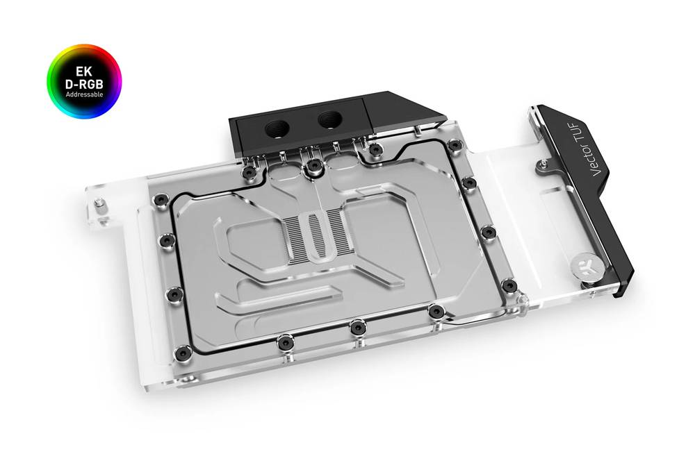 EK WaterBlocks EK-Quantum Vector TUF RTX 3080/3090 D-RGB - Nickel + Plexi