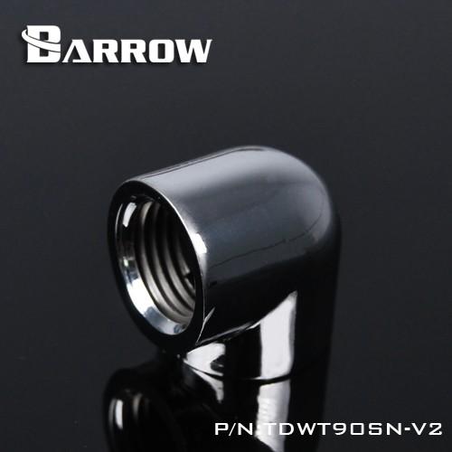 BARROW 90°Adapter ( Female to Felame ) Silver