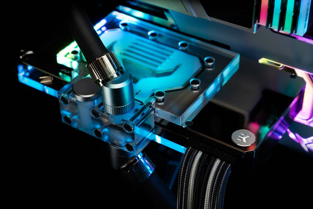EK WaterBlocks EK-Quantum Vector RE RTX 3080/3090 Active Backplate D-RGB - Plexi