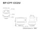 Bitspower Screw Connection G1/4 ID3/8-OD1/2