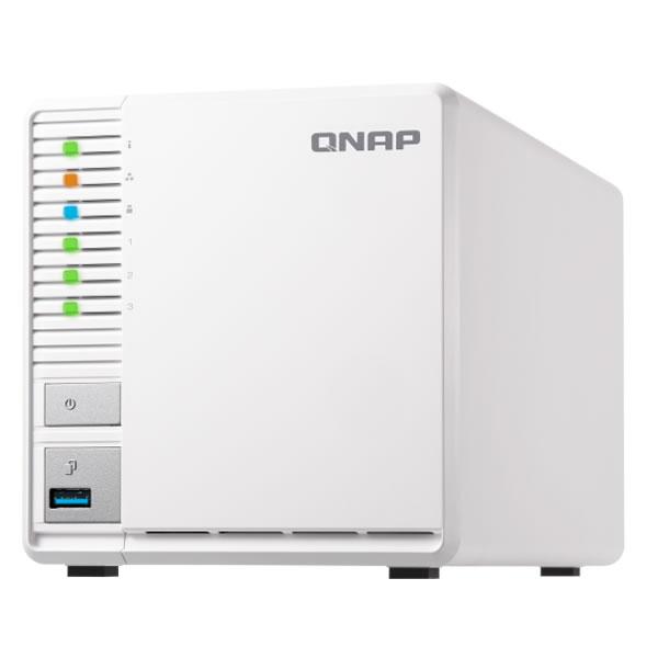 QNAP TS-328 2.5/3.5インチHDD 3台搭載可能