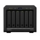 Synology DiskStation DS620slim 2.5インチSSD/HDD 6台搭載可能