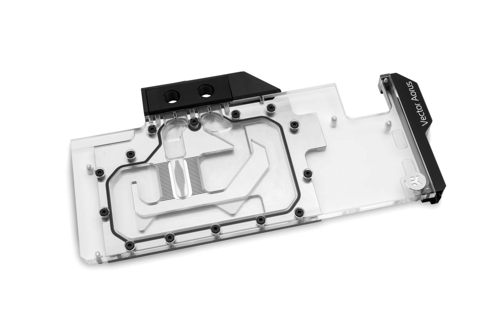 EK WaterBlocks EK-Quantum Vector Aorus RTX 2080 D-RGB - Nickel + Plexi