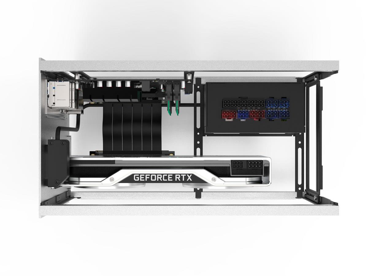 STREACOM DA2 VERTICAL GPU KIT Silver