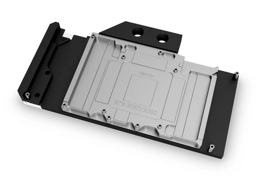 【生産完了】 EK WaterBlocks EK-Quantum Vector RTX 3080/3090 D-RGB - Nickel + Acetal