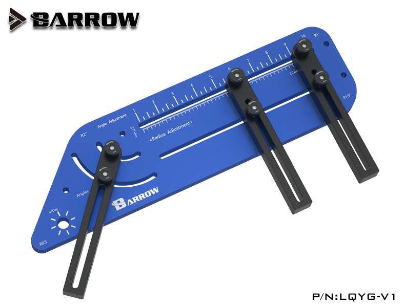 BARROW Multi Angle Hard Tube Bending Tool Blue