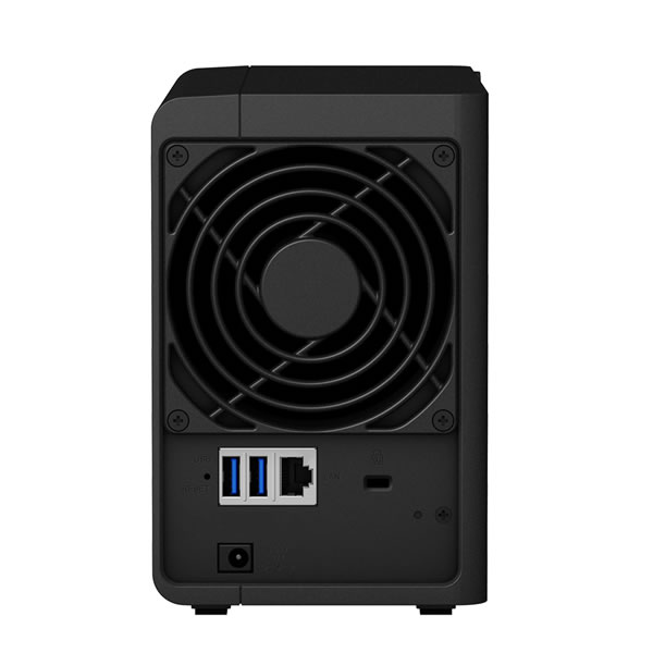 Synology DS218 3.5インチHDD2台搭載可能