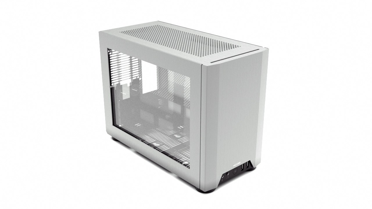 NCASE M1 Window Side Panel  Tempered Glass Silver