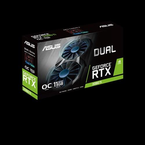ASUS  DUAL-RTX2080TI-O11G