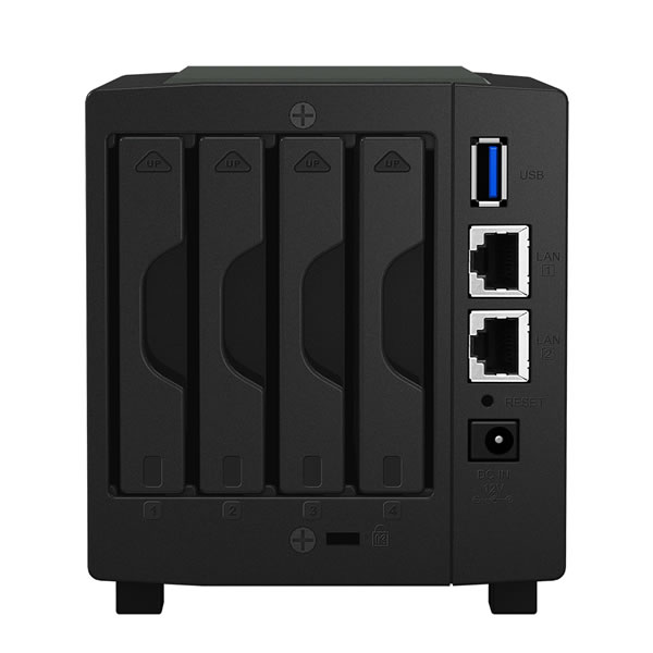 Synology DiskStation DS419slim 2.5インチSSD/HDD 4台搭載可能