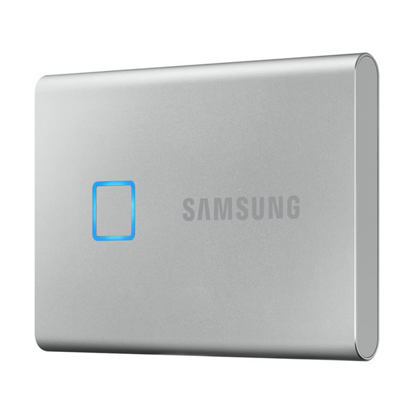 SAMSUNG MU-PC500S/IT 500GB シルバー Portable SSD T7 Touch シリーズ