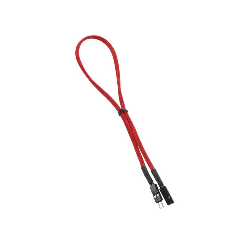 CableMod ModFlex 2-pin Chassis I/O 30cm - RED (CCM-CAB-2IO-30KR-R)