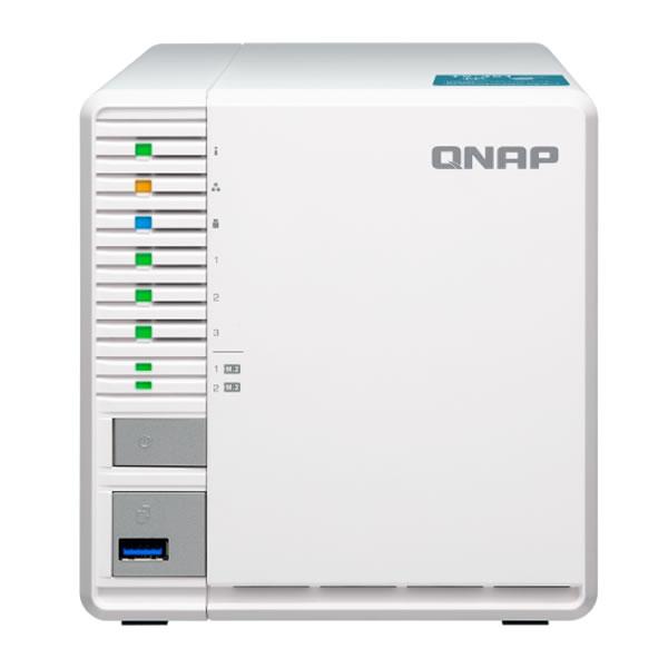 QNAP TS-351 2.5/3.5インチHDD 3台 M.2 SSD 2台 搭載可能